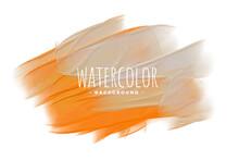 Orange Gray Watercolor Texture Blend Background