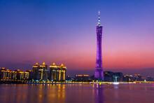 Modern City Of Guangzhou, China