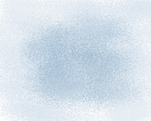 Blur In The Middle On A Blue Background