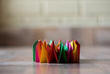 Colorful Modular Origami With Kaleidoscope Shape