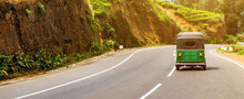 Tuk-tuk Is The Most Popular Transport In Sri Lanka.