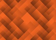 Abstract Broken Glass Orange Wallpaper