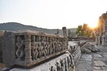 Ancient Hindu And Jain Temple Remains In Alwar ,rajasthan,india,asia