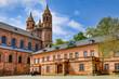 Worms am Rhein, Dom und Schlossplatz
