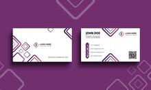 Print Ready Clean Business Card