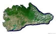 Guantanamo, Cuba - Isolated. Sentinel-2 Satellite