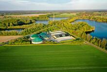 Umwelt Energieerzeugung Biomasse Biogasanlage Regenerative Energie - Co2 Frei - Emissionsfrei