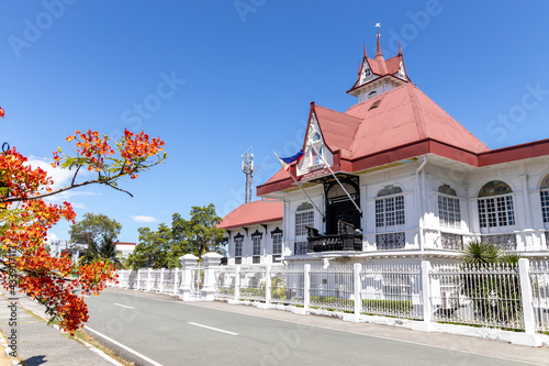 Obraz na plátně Philippines Hero Emilio Aguinaldo Shrine in Kawit, Cavite, Philippines
