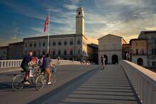 Pisa Sunset People Tramonto Pisa - Luca Baldereschi