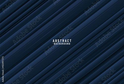 Fotografija Dark blue layered surface
