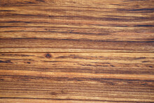Empty Dark Zebra Wood Grain Table Layer Or Top View Brown Wooden Wall Or Floor For Home Interior Or Exterior Architecture And Door Texture Background Or Wallpaper On Vintage And Retro Horizontal Style