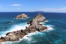 Paysages Point Des Châteaux Guadeloupe Caraïbes Antilles Françaises