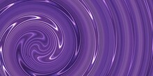 Abstract Purple Background With A Spiral