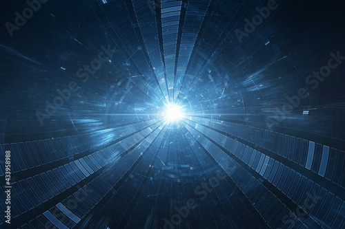 Canvastavla Conceptual space or time travel background