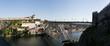 Vue panoramique de Porto et le pont Dom-Luis, Portugal