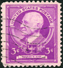 USA - 1940: Shows Portrait Of Charles William Eliot (1834-1926), 1940