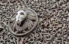 Carved Horse Head