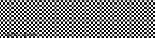 Wide format checkered patteren, background Fotobehang