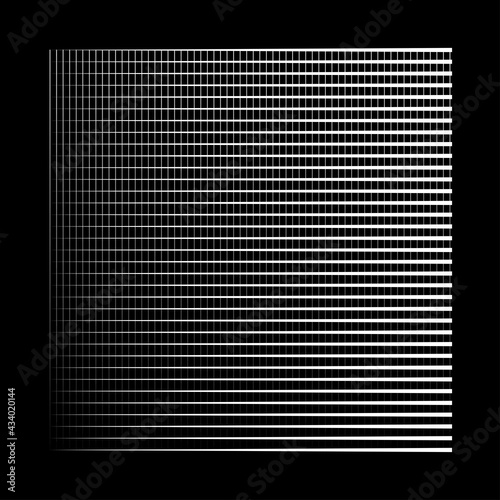 Triangular, edgy geometric pattern, texture. Intersecting triangles Wall mural