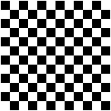 Abstract Checkerboard, Chessboard Pattern. Black And White Squares Texture. Checkered, Chequered Mosaic Tiles