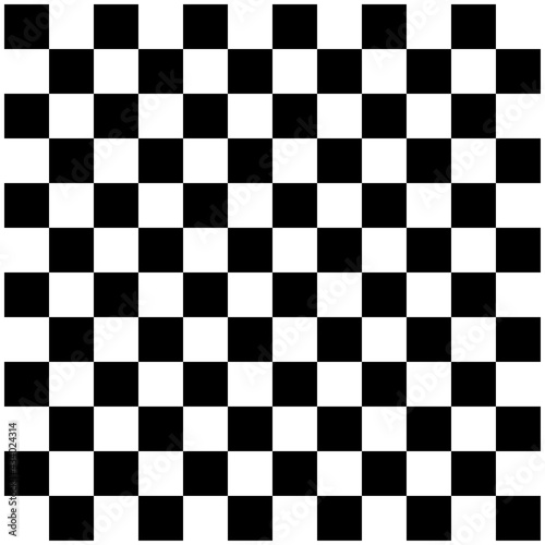 Abstract checkerboard, chessboard pattern Fotobehang