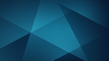 Blue Polygonal Background. Design Template For Brochures, Flyers, Magazine, Banners Etc.