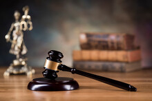 Judge Gavel,Law Concept