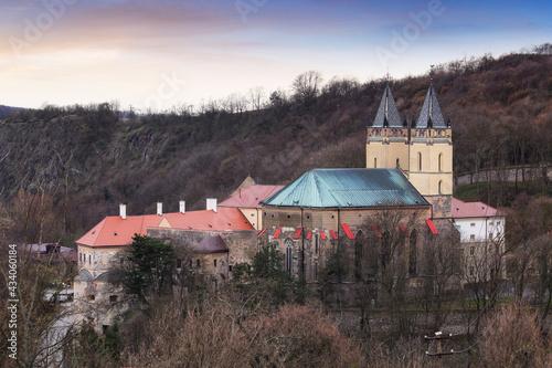 Fotografie, Obraz Monastery in Hronsky Benadik, Slovakia
