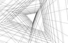Modern Architecture Concept Vector Illustration