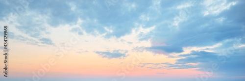 Canvas Clear blue sky