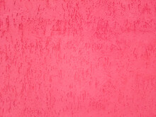 Plastered Pink Wall Texture.