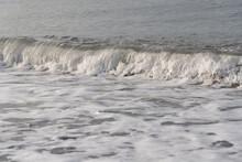 Sea White Wave Rocky Beach
