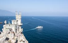 Swallows Nest Castle, Landmark Of Crimea , Yalta