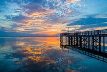 Mobile Bay Sunset