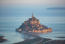 The Mont Saint-michel Getting Creative