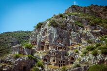Demre - The Lycian Town Of Myra, South Of Turkey, Antalya Region.