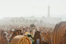 View Of Graveyard