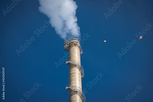 Slika na platnu smoke from chimney