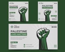 Free Palestine Al Aqsa Protest Vector For Banner,logo,card,poster,wallpaper,t-shirt. Banner And Poster Art Design To Save Palestine.  Save Palestine Picture And Justice Banner Design.