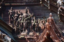 Statue Of Statues In A Temple