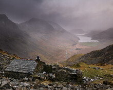 Warnscale Bothy Looking Towards Buttermere.