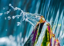 Close-up Of Multi Colored Prism