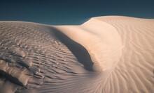View Of Sand Dunes In Desert Against Sky