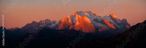 Dolomites sunrise Tapéta, Fotótapéta
