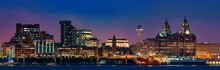 Liverpool Skyline Night