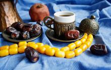 Coffee Cup, Dates Frits, Still Life, Orient