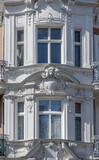 Fototapeta Londyn - Fasady starych kamienic. Szczecin Polska