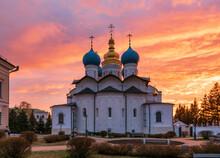 Cathedral Of The Annunciation In Kazan Kremlin Tatarstan Russia