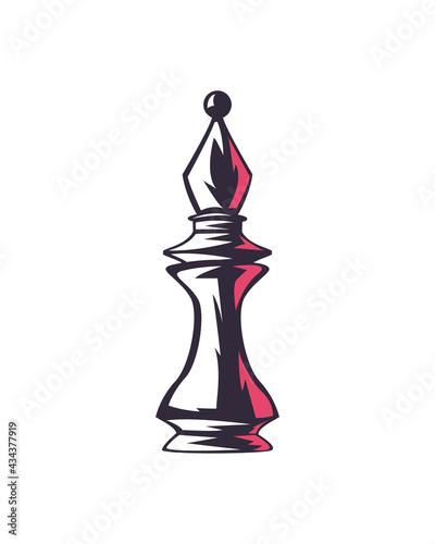 Fotografia, Obraz bishop chess piece