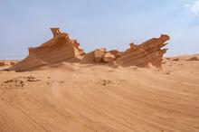 Sand Sculptures In The Desert Of UAE